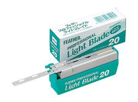 Caja de 20 cuchillas Feather Light Blade