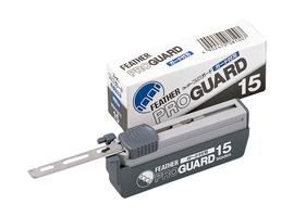 Caja de 15 cuchillas Feather Pro Guard PG-15